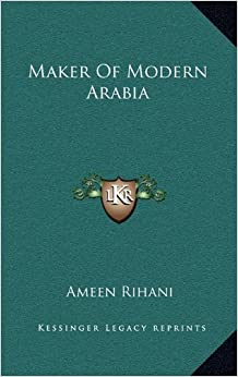 Book Maker Of Modern Arabia