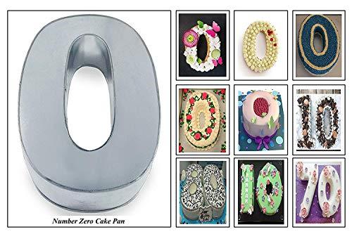 Euro Tins Large Number Wedding Birthday Anniversary Baking