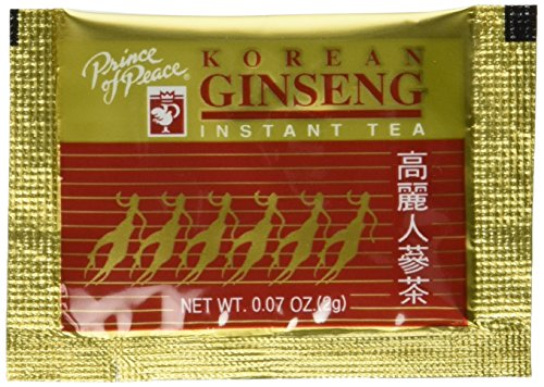 - Prince of Peace Instant Korean Panax Ginseng Tea, 100 Count