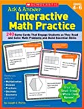 Ask and Answer Interactive Math Practice, Joseph A. Porzio, 0439572134