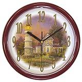 Thomas Kinkade 10-Inch Victorian Light Wall Clock