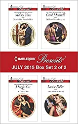 Harlequin Presents July 2015 - Box Set 2 of 2: Married for Amari's Heir\A Taste of Sin\Sicilian's Shock Proposal\Vows Made in Secret