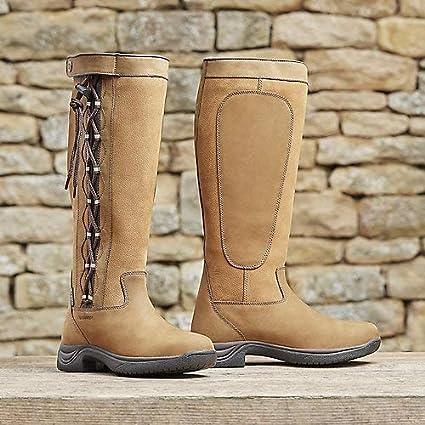 6a19d1f169901 Amazon.com : Dublin Pinnacle Boots II Chocolate Ladies 8 : Sports ...
