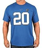 """Barry Sanders Detroit Lions Majestic NFL Men's """"HOF Eligible Receiver 4"""" T-Shirt"""