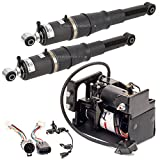 New Air Suspension Compressor & Rear Shock Kit For Cadillac Chevy & GMC W/ Z55 - BuyAutoParts 75-85157AA New
