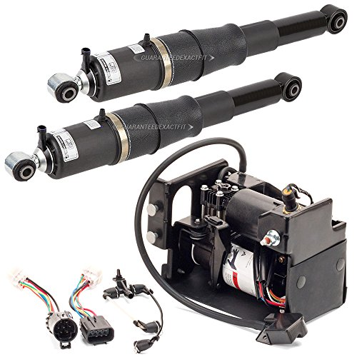 New Air Suspension Compressor & Rear Shock Kit For Cadillac Chevy & GMC W/ Z55 - BuyAutoParts 75-85157AA (Suspension Rear Suspension)