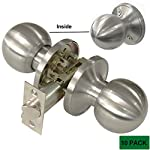 Probrico Door Knobs and Handles in Satin Nickel Wholesale Passage Door Locks