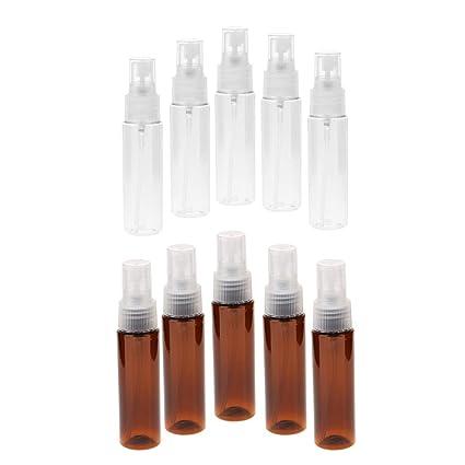 10 Unidades Botella de Spray 30ml Tubo de Loción Envase de Perfume ...
