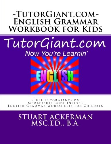 TutorGiant.com - English Grammar Workbook for Kids: FREE ...