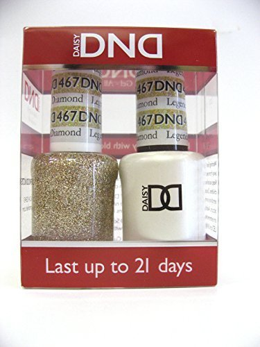DND *Duo Gel* (Gel & Matching Polish) Glitter Set 467 - Legendary Diamond by DND Gel by dnd
