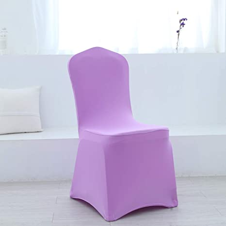 Remarkable Amazon Com Zdada Lavender 8 Pcs Spandex Chair Covers For Gmtry Best Dining Table And Chair Ideas Images Gmtryco