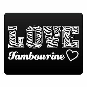 Eddany Love Tambourine Plastic Acrylic
