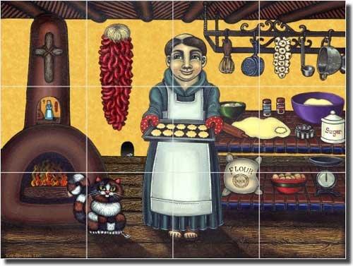 Southwest Religious Ceramic Tile Mural 17