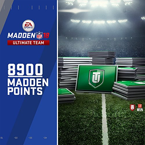 Madden 18 - 8900 Ultimate Team Points - PS4 [Digital Code] by Electronic Arts