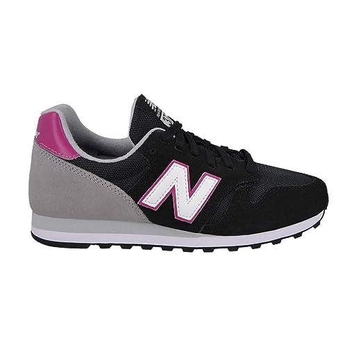 New Balance WL373PN - Zapatillas de Running de competición de Sintético Mujer, Color Negro, Talla 37 EU: Amazon.es: Zapatos y complementos