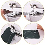Royalsell Sewing Machine, Mini Handy Stitch Portable Sewing Machine Cordless Batteryed for Home Travel