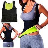 Women Hot Sweat Body Shaper Slimming Neoprene Shirt Vest Thermo Yoga Sauna Fat Burner Waist Shaper Trainer Cincher (S=2-4)