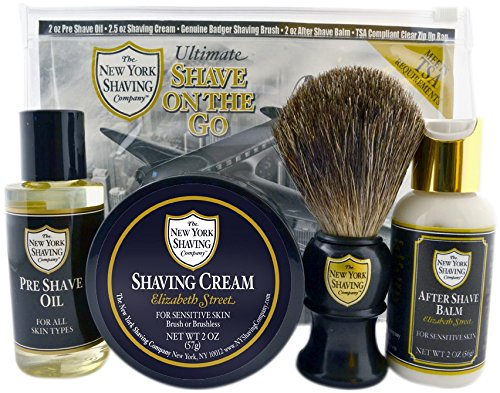 The New York Shaving Company Elizabeth Street Ultimate Shave On The Go