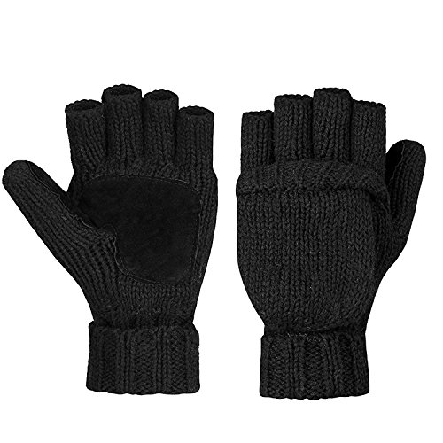 Metog Warm Winter Gloves Wool Mittens
