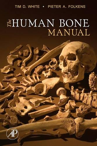The Human Bone Manual cover