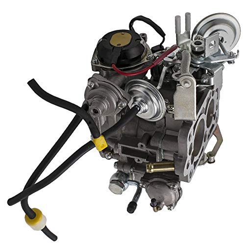 (maXpeedingrods Carburetor 21100-35570 for Toyota Celica 1984, Toyota 4Runner 1984-1987 and Toyota Hilux/Pickup 1984-1987 with 22R)