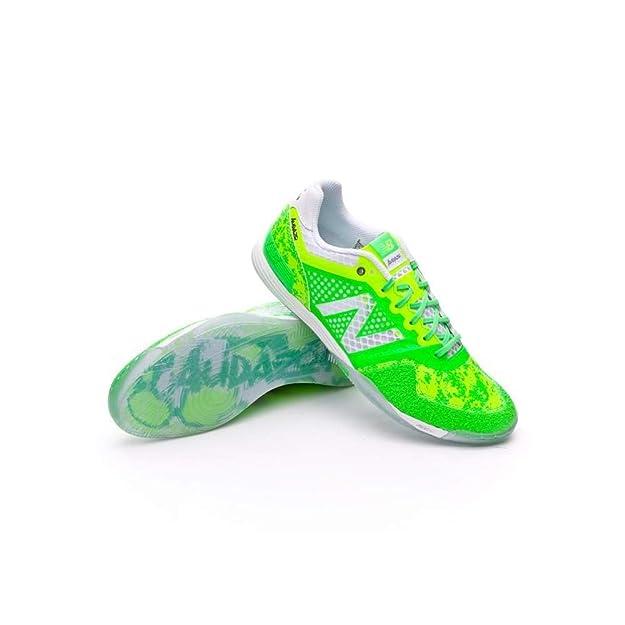 New Balance Audazo Pro Futsal, Zapatilla de fútbol Sala, Green Lime: Amazon.es: Zapatos y complementos