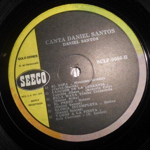 Amazon.com: Daniel Santos – Canta Daniel Santos (Sings ...