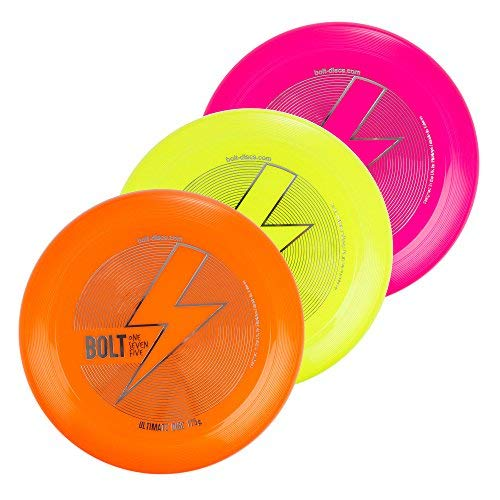 Bolt OneSevenFive Ultimate 175g Flying Disc! Loads of UV Colours Available! (Blue)