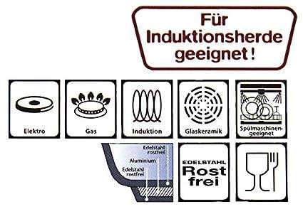 SSW Edelstahl Kochtopf Vitalo Hochwertiger Topf Induktion Big 10 ...