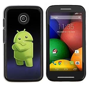 Stuss Case / Funda Carcasa protectora - Smartphone extranjero verde - Motorola Moto E