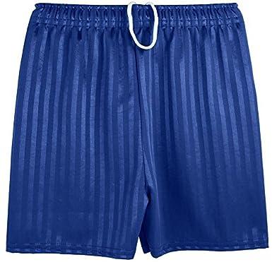 Shadow Stripe Gym Sports Games School PE Shorts Unisex- Royal Blue ...