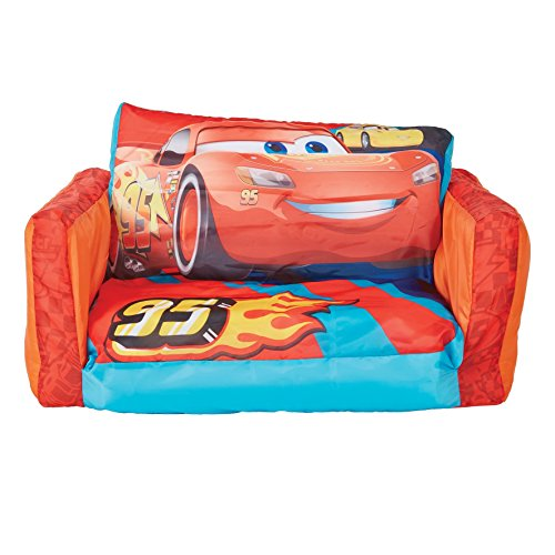 Awe Inspiring Disney Pixar Cars Flip Open Sofa Leather Sectional Sofa Home Interior And Landscaping Ologienasavecom