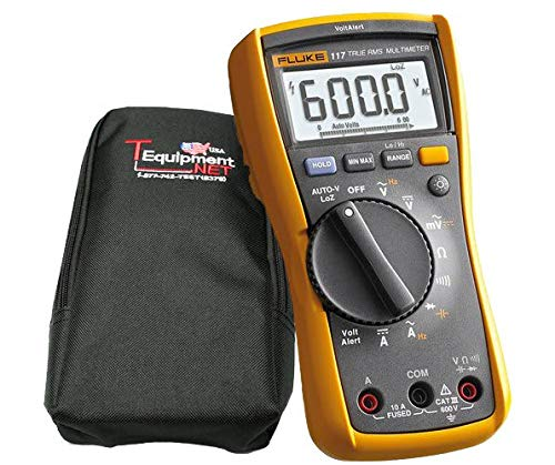 Fluke 117-KIT | ELECTRICIANS TRUE RMS MULTIMETER with C-66 Softcase