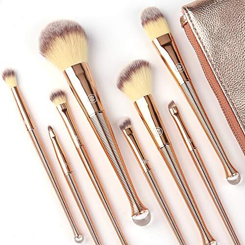 Makeup Brushes Set 8Pcs High End Premium Synthetic Cosmetics Contouring Powder Contour Foundation