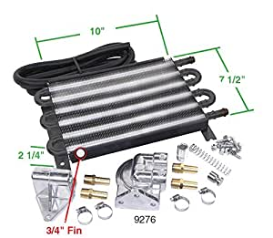EMPI 00-9234-0 6-Pass Oil Cooler Kit, VW, BAJA, SAND RAIL