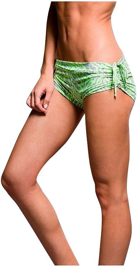 Onzie Hot Yoga Wear Side String Short 204 Elevate