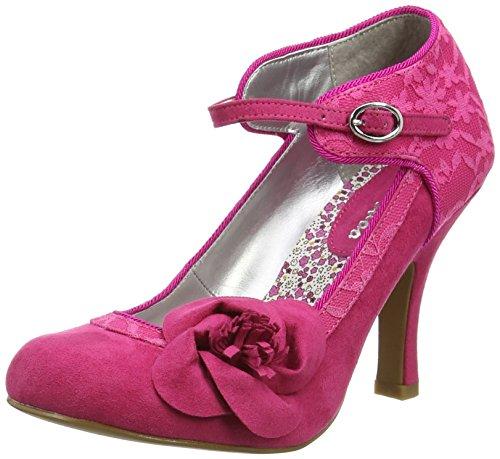 Ruby Shoo Anna, Women's Closed-Toe Pumps Pink (Fuchsia)