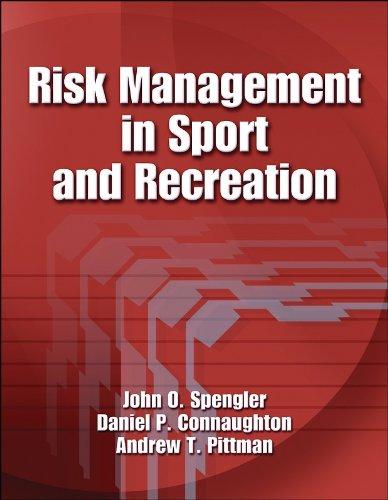 Risk Management In Sport+Recreation