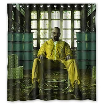 Amazon.com: Custom Popular Shower Curtains Breaking Bad Shower ...