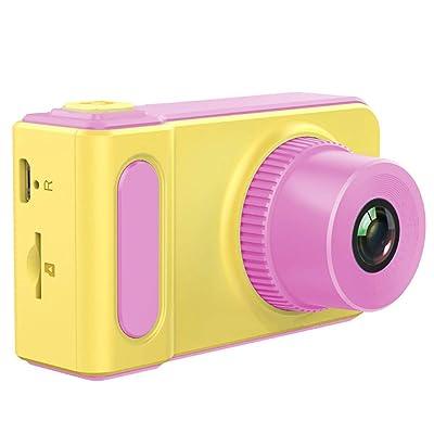 Tian Ran Dai Cámara Digital para niños HD 1080P Cámara para niños 2.0 Pulgadas Pantalla Juguete Cámara Niños Niñas Cumpleaños