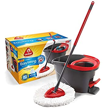 148473 - Easy Wring Spin Mop and Bucket - Easy Wring Spin Mop and Bucket,
