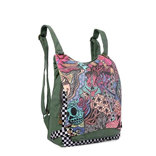 École Sac en dos sac bandoulière à toile à sac double A air Sac Voyage bandoulière à Incline A w4CqqnfF