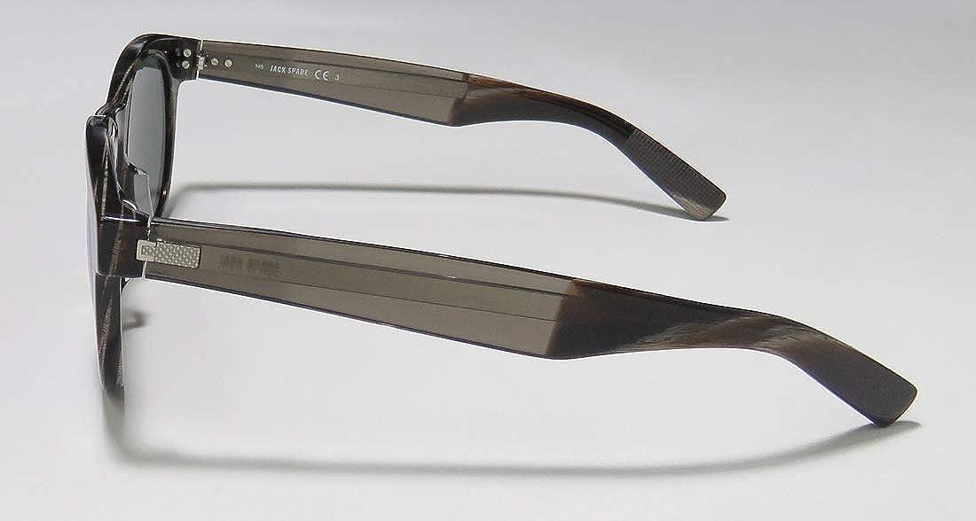 Jack Spade-Reuben//S-0O6W//T4 Matte Black//Gray Bronze Mirror