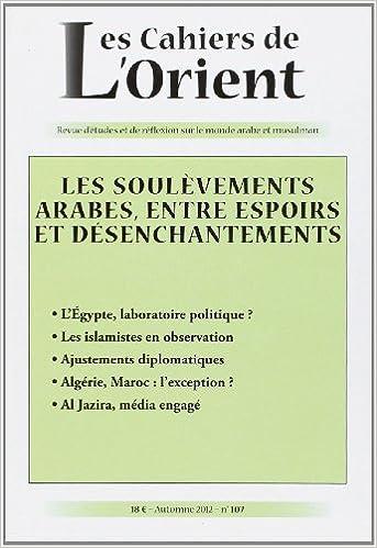 Téléchargement Cahiers de l'orient n107 pdf