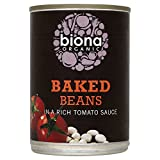 Biona Organic Baked Beans in a Rich Tomato Sauce (400g) - Pack of 6