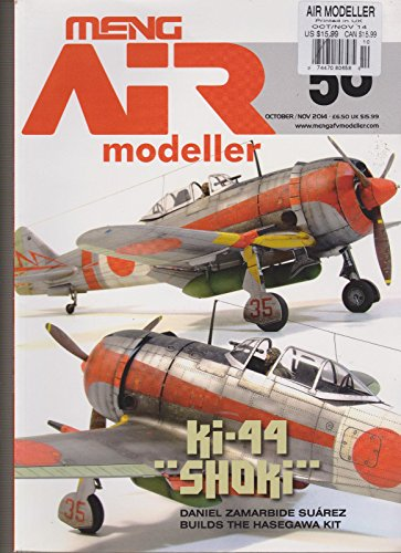 MENG AIR MODELLER MAGAZINE OCT/NOV 2014, KI-44 SHOKI. (Modeller Magazine)