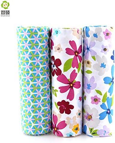 Reixus (TM) pa?o de algod¨®n patchwork Telas tela de remiendo de grasa cuarta manojo pa?o vestido mu?eca falda de tela 40X 50 cm: Amazon.es: Hogar