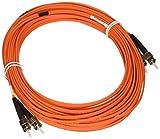 Tripp Lite N302-15M 50-Feet Duplex Multimode 62.5/125 Fiber Optic Patch Cable ST/ST, 15M