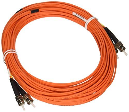 Tripp Lite Duplex Multimode 62.5/125 Fiber Patch Cable (ST/ST), 15M (50-ft.)(N302-15M) (Optic Cable Fiber Multimode 15m)