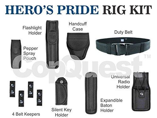 Hero's Pride Duty Rig Kit - 8 Items - LRG - 34-40 - Rig Inch 36